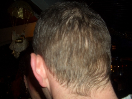 Kev's head!! (still brown)
